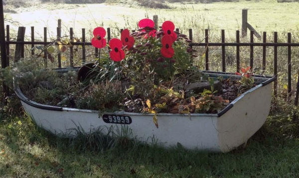 Boat with Poppies